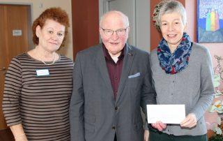Ehrhard Schneider spendet 1000 Euro