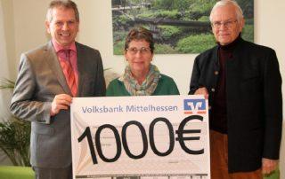 1000 Euro für Haus Emmaus