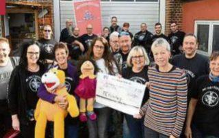 Die gute Tat: Fan-Club unterstützt Hospiz