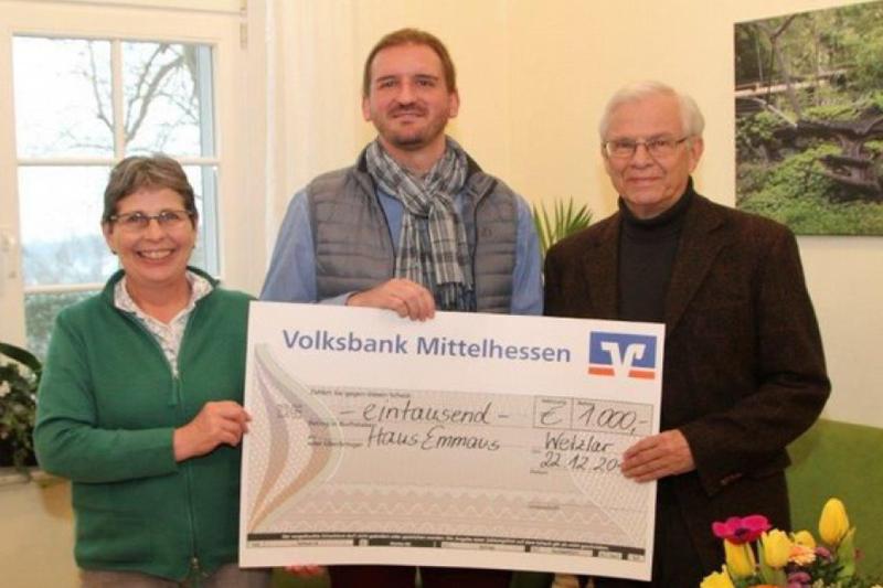 Globus Apotheke spendet 1000 Euro
